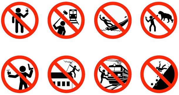 Руска кампания цели да намали инцидентите при правенето на селфи