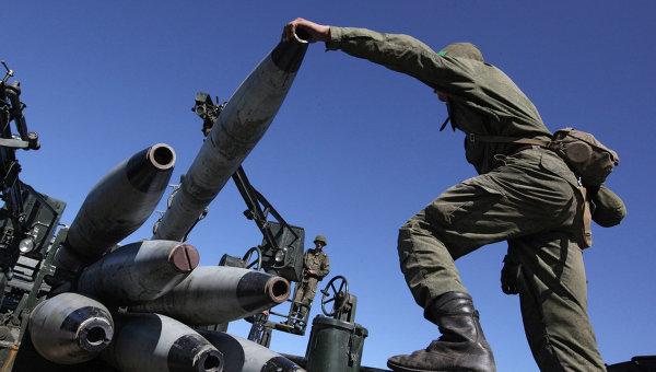 Пет хиляди артилеристи провеждат учение в Западна Русия