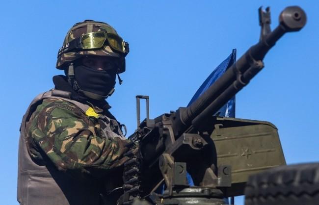 Украинските военни обстрелват Горловка с тежки оръдия