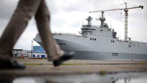 """Франция назова сумата, която ще плати за разтрогването на договора за """"Мистрал"""""""