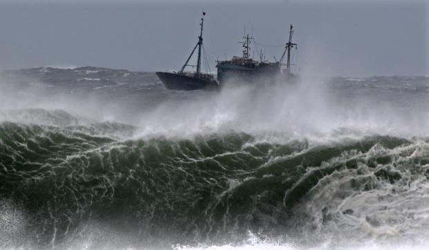 "Владивосток очаква чудовищен тайфун ""Гони"""