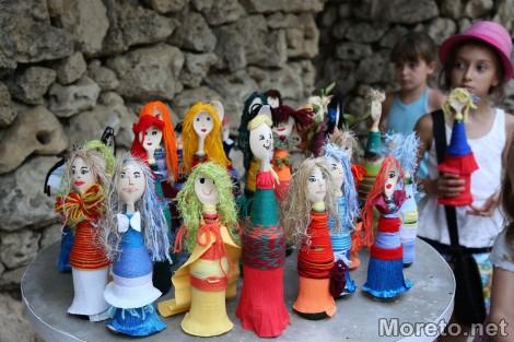 """Над 220 деца участваха в ІV Международен фестивал """"Магията на куклите"""" край Варна"""