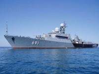 """Каспийската флотилия е вдигната под тревога в рамките на ученията """"Център-2015"""""""
