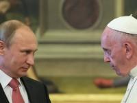 Медии: Римският папа иска да обсъди с Путин Сирия и проблема с бежанците