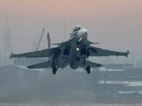 Изтребителите Су-30СМ за първи път изпълниха бомбардиране по наземни цели на ученията в Крим