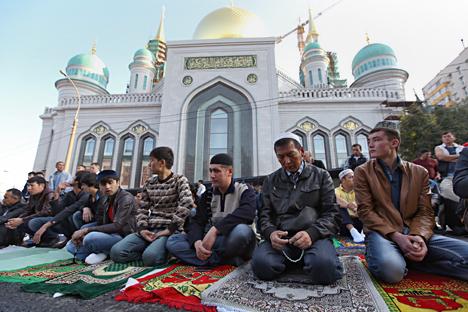 Новата джамия в Москва ще може да събира до 10 000 души. Снимка: Коммерсант.