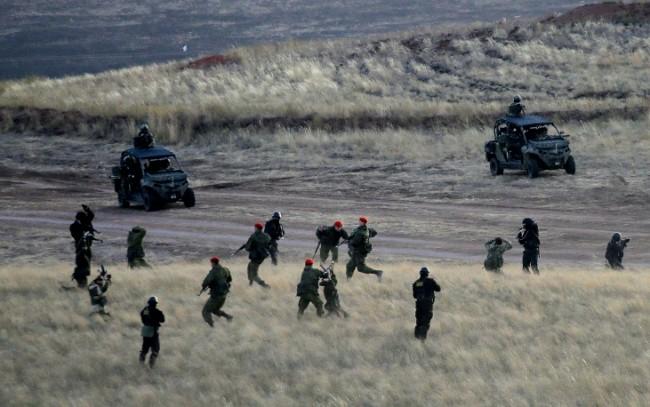 В Южна Русия започнаха мащабни учения с танкове, РСЗО и авиация