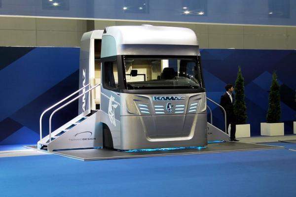 КАМАЗ разработва кабина на бъдещето