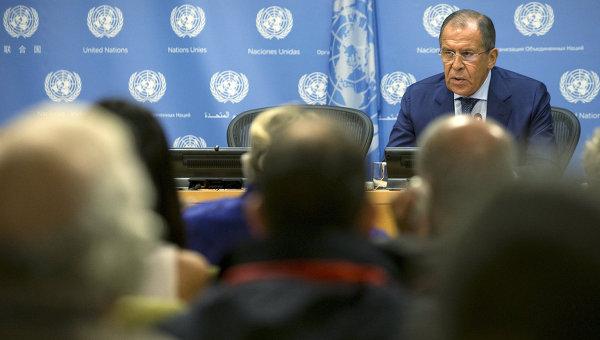 Лавров: Русия не може да влезе в състава на оглавяваната от САЩ коалиция