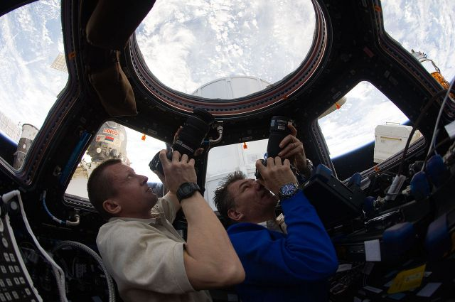 Руският екипаж на МКС публикува видео за развлеченията в орбита