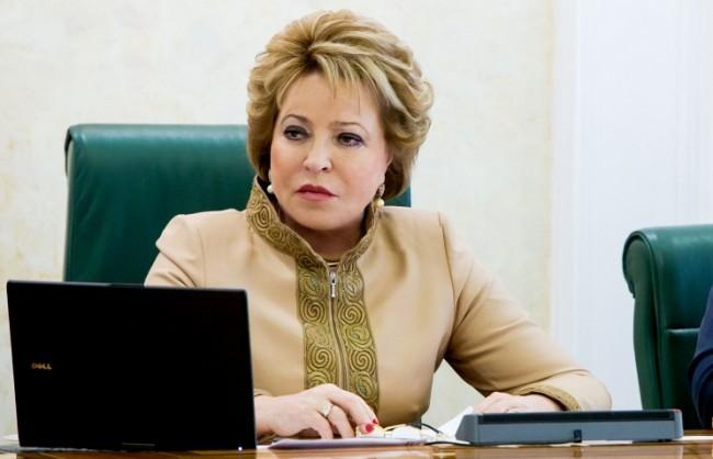 Матвиенко готова да посети Сирия начело на парламентарната делегация на РФ