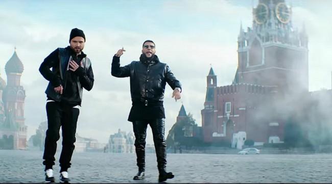 Руски рапъри възпяха Путин като подарък за рождения му ден