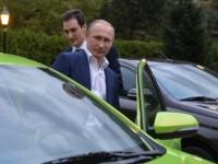 Путин тества новата Lada Vesta (Видео)