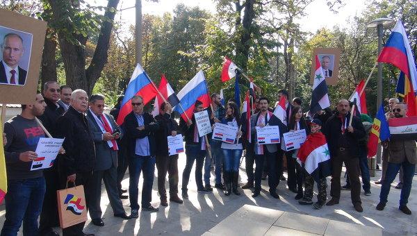 Сирийски студенти от цял свят благодариха на Русия за помощта в борбата срещу ИД