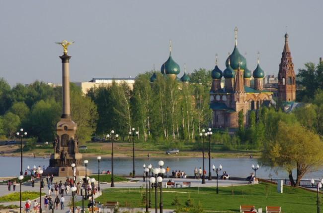 Eдин от най-красивите руски градове – Ярославъл