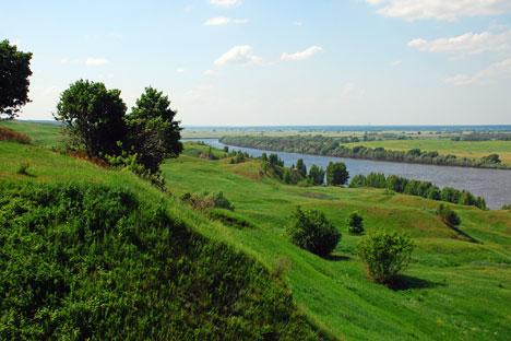 Село Константиново, родното място на Сергей Есенин. Снимка: Lori / Legion-Media.