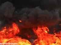 Огън обхвана склад с артилерийски боеприпаси в Украйна