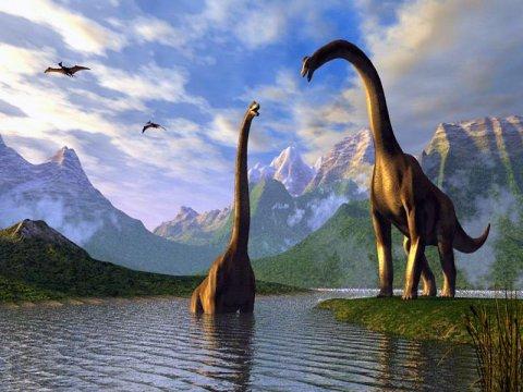 Учените от РАН: Изчезването на динозаврите се дължи на гравитацията
