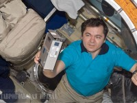 На снимка: руски космонавт Олег Скрипочка.