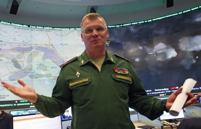 Генерал Конашенков: Болниците в Сирия, за чиито бомбардировки ни обвиняват, не съществуват