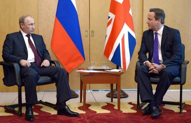 Путин и Камерън заявиха необходимост от съвместна борба срещу тероризма