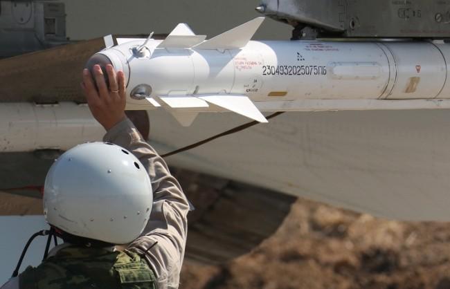 """Су-34 за първи път излетяха на бойна задача в Сирия с ракети """"въздух-въздух"""""""