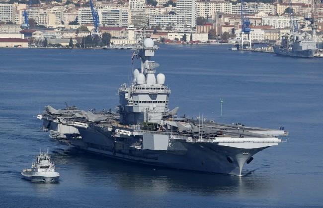 Генералният щаб на РФ организира съвместна дейност с ВМС на Франция за борба с тероризма в Сирия