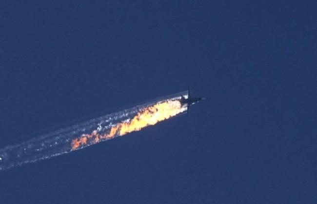 Самолет Су-24 от руската авиогрупа е претърпял катастрофа в Сирия