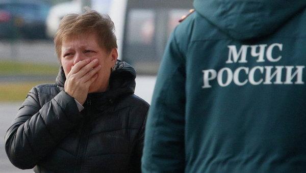 Първият автомобил с телата на загиналите в катастрофата в Египет напусна Пулково-2