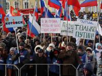 Значително се е увеличил броят на руснаците, които посещават митинги