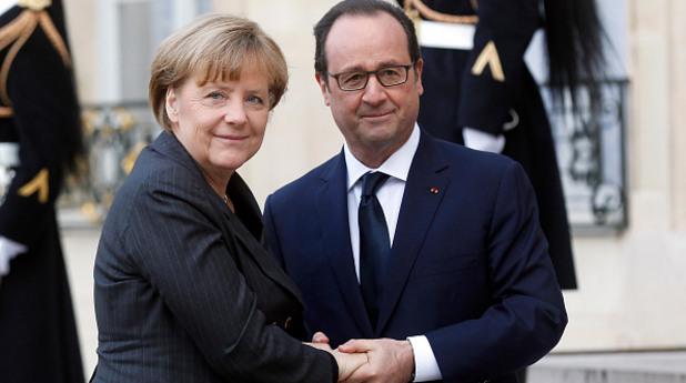 Меркел и Оланд: Много бързо трябва да унищожим ИД