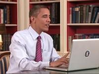 Обама заяви присъствието си и в социалната мрежа фейсбук