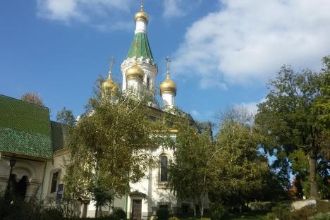 Руската църква в София. Снимка: Филип Иванов.