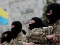 """Украински депутат отхапа ухото на активист от """"Азов"""""""