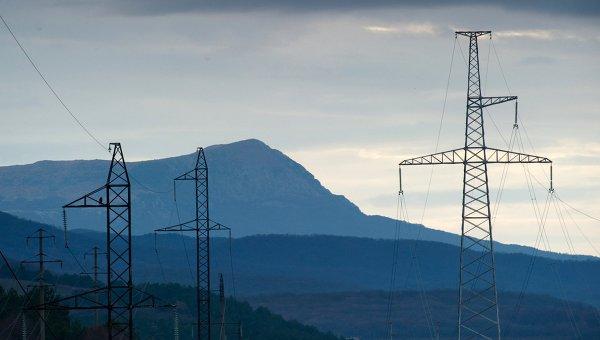 Светла нощ: Крим получи електроенергия по енергомоста от Русия