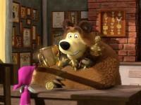 """Един от епизодите на """"Маша и мечока"""" събра над милиард гледания"""