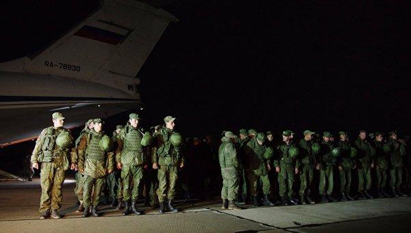 Морските пехотинци от ЧФ се върнаха от Сирия в Севастопол