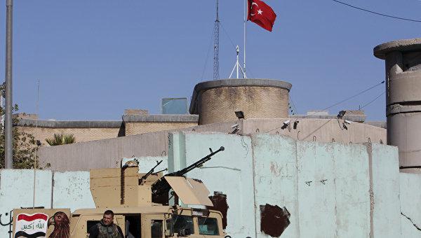 Москва счита за противозаконно турското военно присъствие на иракска територия без одобрението на Багдад