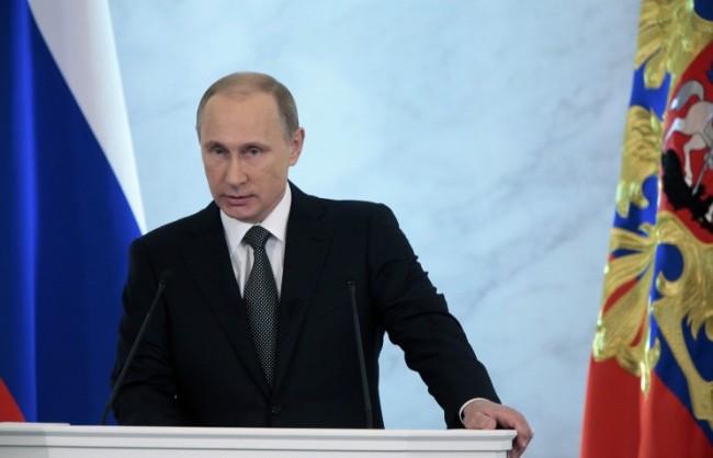 Путин  се зае с подготовката на посланието пред Федералното събрание