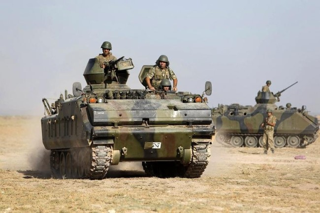 Ирак гони турците