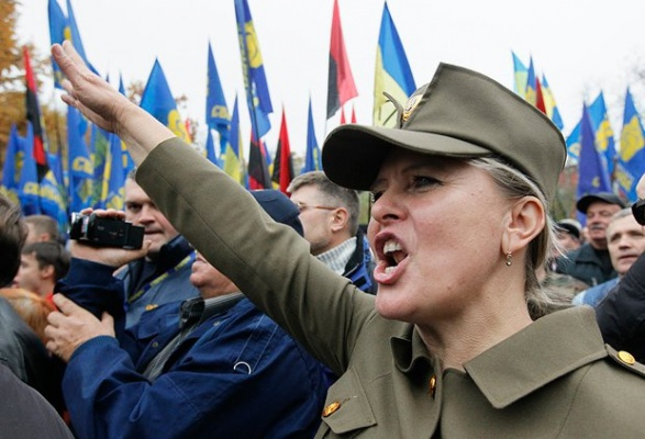 Митинг на националистите в Киев