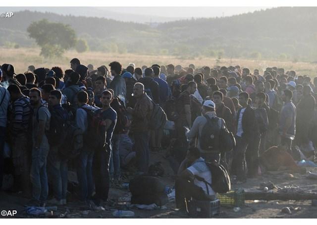 Гръцко село на бунт срещу мигрантите