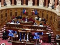 Ирина Бокова в Сената на Франция