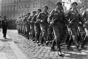 Soviet Troops in Prague