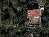"""""""Благодаря, Русия!"""" – сирийски граждани пишат послания към руските пилоти на покривите на къщите"""