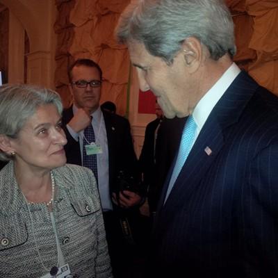 Джон Кери потвърди подкрепата и високата оценка на САЩ за дейността на ЮНЕСКО