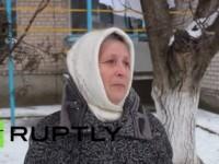 Жителите на Геническ благодариха на Путин за помощта