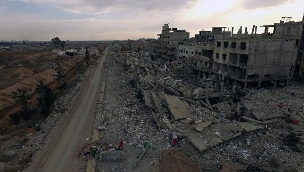С помощта на ВКС на РФ сирийската армия е установила контрол над околностите на Дераа