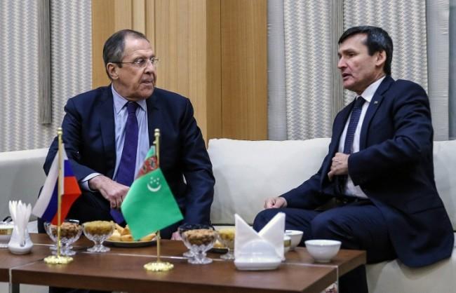 Лавров ще обсъди с ръководството на Туркменистан търговско-икономическите връзки и ситуацията в света
