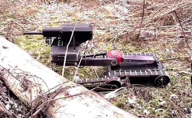 Оръжия на бъдещето – Русия изпита боен робот, който се побира в раница